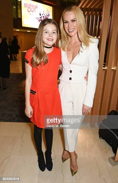 Amanda Holden and daughter Alexa Hughes attend the press night after party for Stepping Out at the Coutts Bank on March 14 2017 in London England