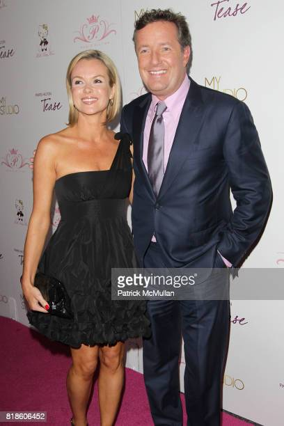Amanda Holden and Piers Morgan attend Paris Hilton Embodies Icon Marilyn Monroe To Celebrate Her Fragrance Launch TEASE at MyStudio on August 10 2010...