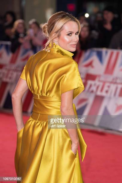 Amanda Holden arrives at the Britain's Got Talent 2019 auditions held at London Palladium on January 20 2019 in London England