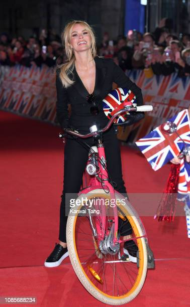 Amanda Holden arrives at the Britain's Got Talent 2019 photocall at London Palladium on January 20 2019 in London England
