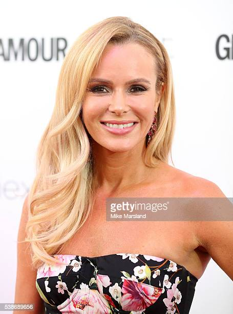 Amanda Holden arrives for the Glamour Women Of The Year Awards on June 7 2016 in London United Kingdom