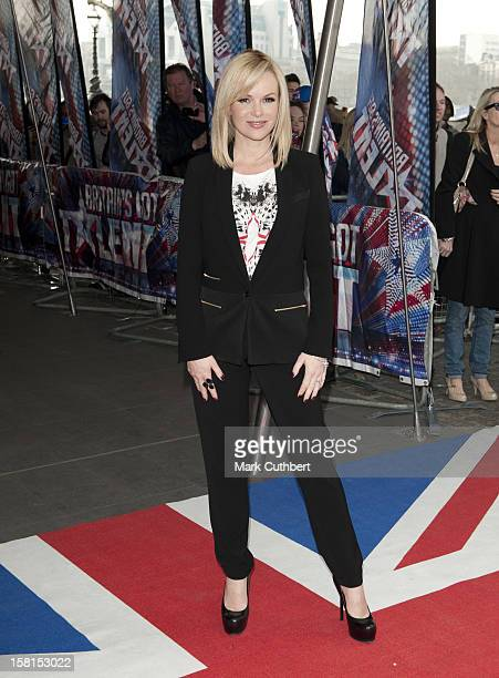 Amanda Holden Arriving At The Press Launch For Britains Got Talent At The Bfi In London