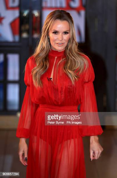 Amanda Holden attending the Britain's Got Talent Photocall at the Opera House Church Street Blackpool PRESS ASSOCIATION Photo Picture date Tuesday...