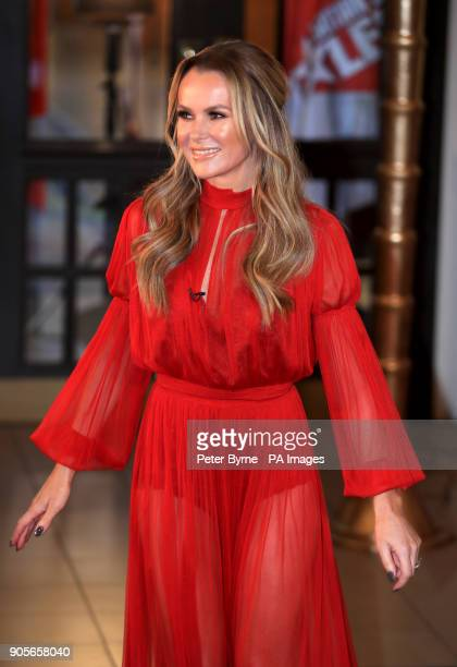 Amanda Holden attending the Britain's Got Talent Photocall at the Opera House Church Street Blackpool