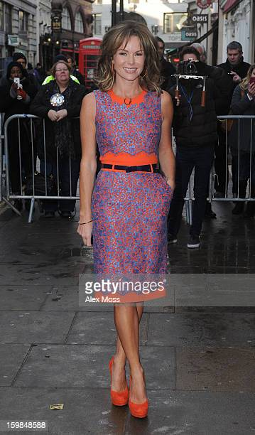 Amanda Holden attends Britains Got Talent day 2 auditions on January 21 2013 in London England