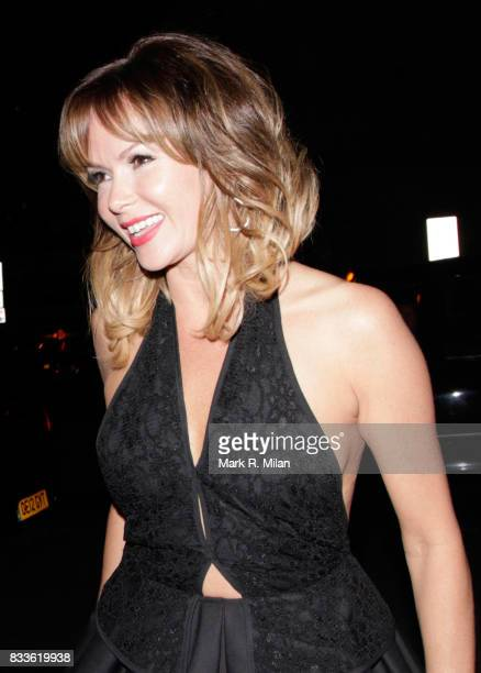 Amanda Holden attends 'Britains Got Talent' Final Wrap Party at 45 Park Lane on June 8 2013 in London England