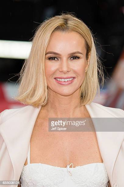 Amanda Holden attends Britain's Got Talent London Auditions at London Palladium on January 29 2017 in London United Kingdom