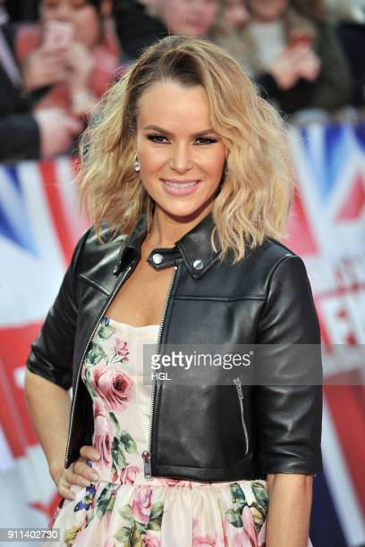 Amanda Holden attends Britain's Got Talent London auditions at London Palladium on January 28 2018 in London England