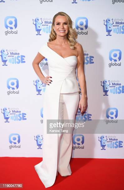 Amanda Holden attends Global's Make Some Noise Night 2019 at Finsbury Square Marquee on November 25, 2019 in London, England.
