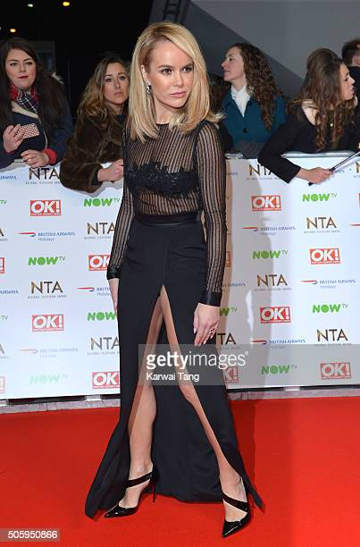 Amanda Holden attends the 21st National Television Awards at The O2 Arena on January 20 2016 in London England