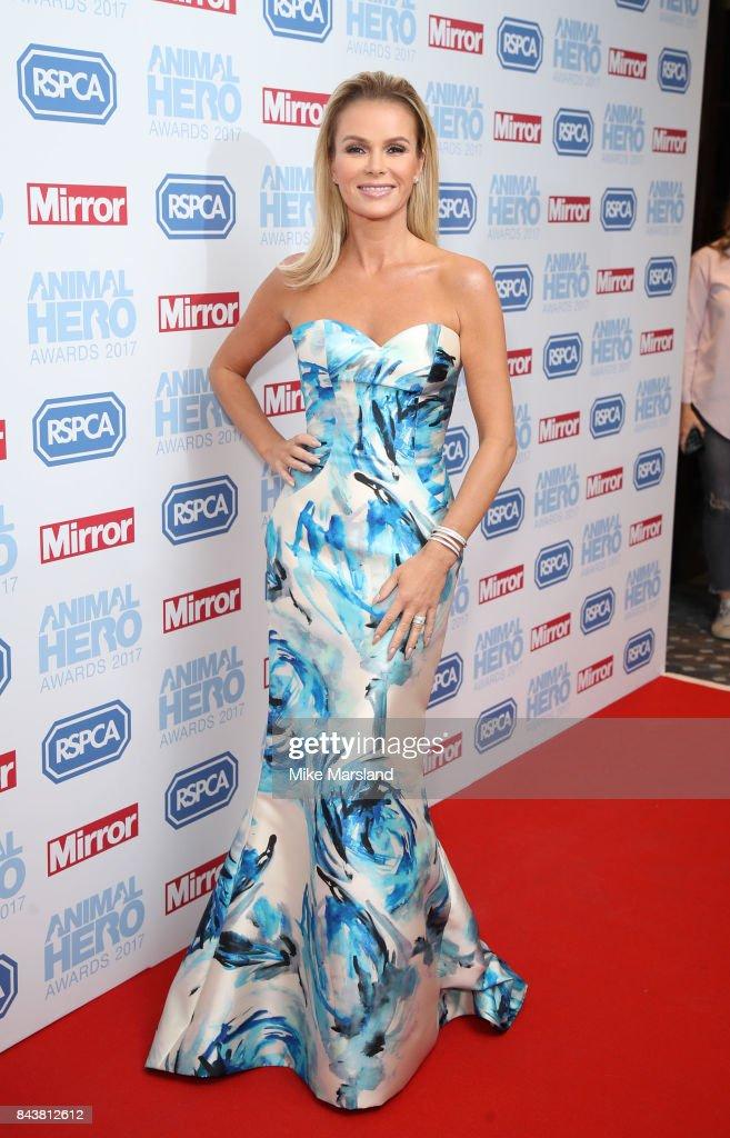 Amanda Holden attends the Animal Hero Awards 2017 at The Grosvenor House Hotel on September 7, 2017 in London, England.