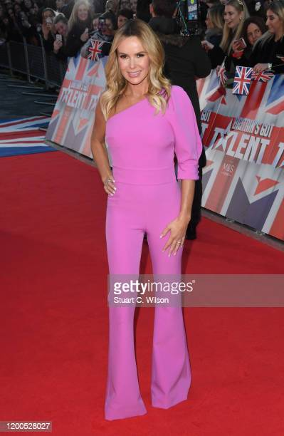 Amanda Holden attends the Britain's Got Talent 2020 photocall at the London Palladium on January 19 2020 in London England