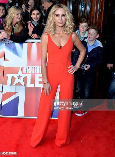 Amanda Holden attends the Britain's Got Talent Auditions on January 22 2016 in London England