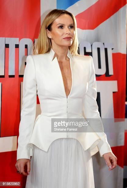 Amanda Holden attends the Britain's Got Talent Manchester auditions at The Lowry on February 8 2018 in Manchester England