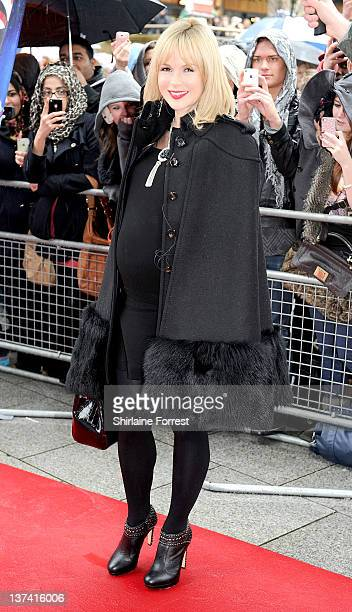 Amanda Holden attends the first day of auditions for Britain's Got Talent at The Lowry on January 20 2012 in Manchester England