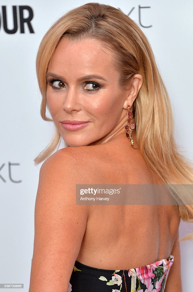Amanda Holden attends the Glamour Women Of The Year Awards at Berkeley Square Gardens on June 7, 2016 in London, England.