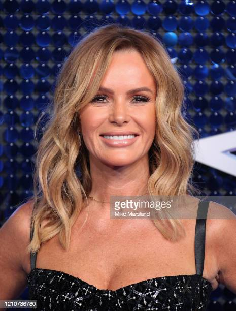 Amanda Holden attends The Global Awards 2020 at Eventim Apollo, Hammersmith on March 05, 2020 in London, England.