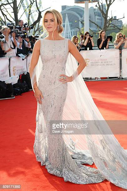Amanda Holden attends the House Of Fraser British Academy Television Awards 2016 at the Royal Festival Hall on May 8 2016 in London England