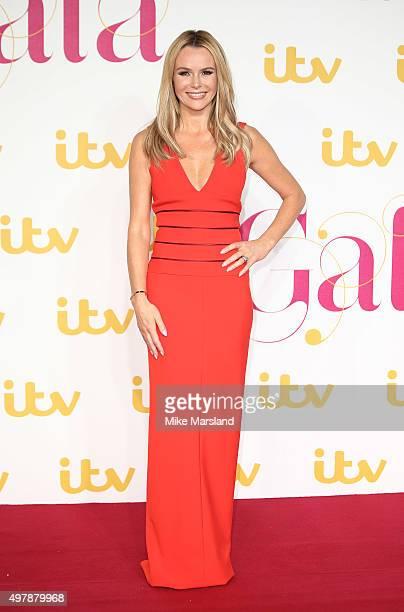 Amanda Holden attends the ITV Gala at London Palladium on November 19 2015 in London England