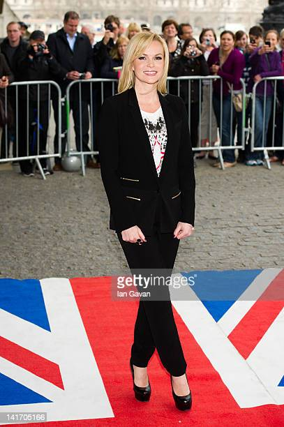 Amanda Holden attends the launch of Britain's Got Talent at BFI Southbank on March 22 2012 in London England