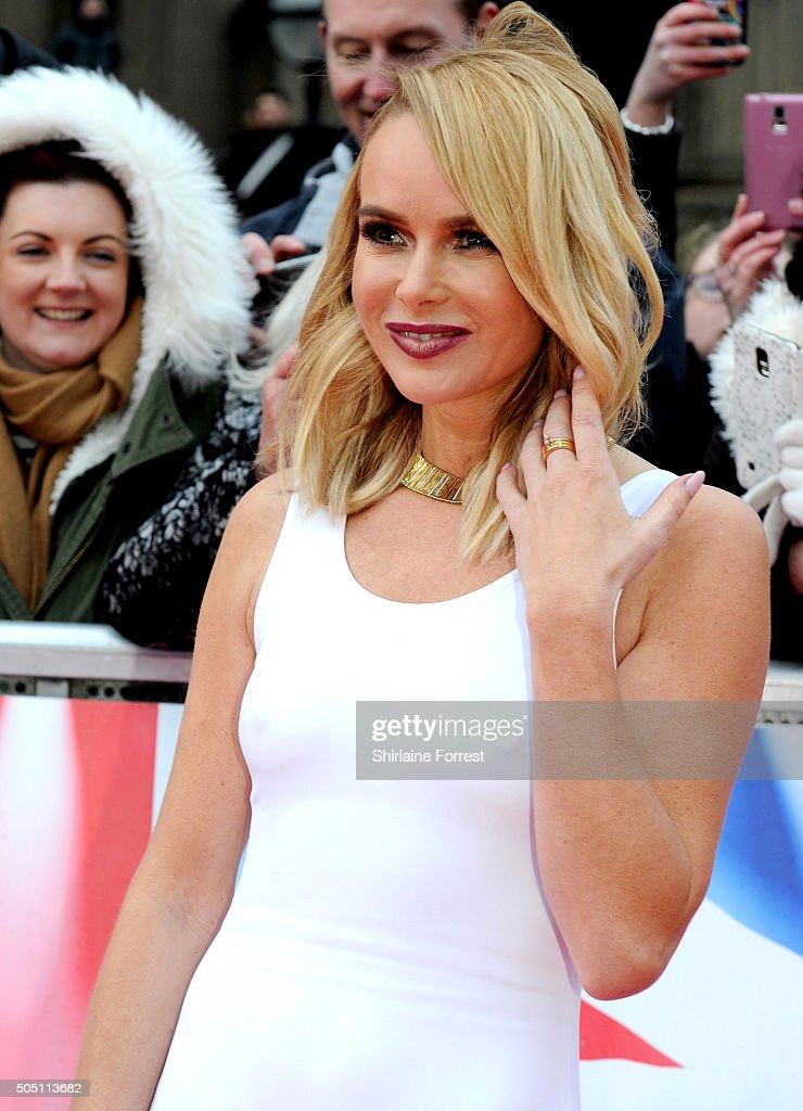 Amanda Holden attends the Liverpool auditions for Britain's Got Talent at Liverpool Empire Theatre on January 15, 2016 in Liverpool, England.