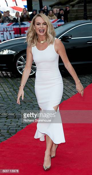 Amanda Holden attends the Liverpool auditions for Britain's Got Talent at Liverpool Empire Theatre on January 15 2016 in Liverpool England