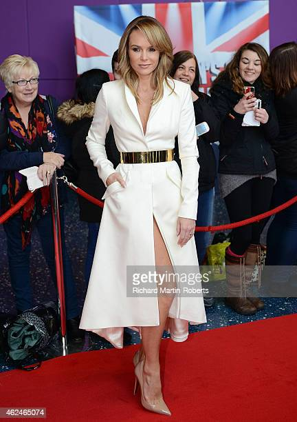 Amanda Holden attends the Manchester auditions for Britain's Got Talent at The Lowry on January 29 2015 in Manchester England