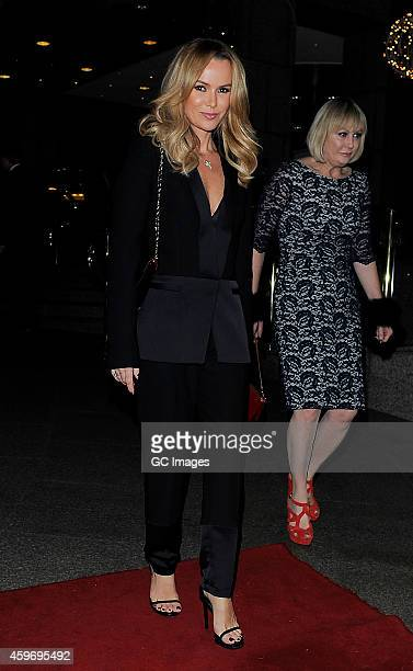 Amanda Holden attends 'The Odd Ball' hosted by The Murray Parish Trust at The Royal Garden Hotel on November 28 2014 in London England