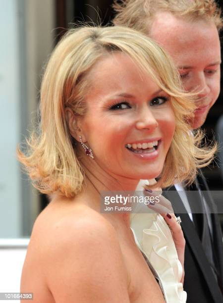 Amanda Holden attends the Philips British Academy Television Awards at London Palladium on June 6 2010 in London England