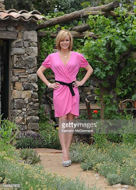 Amanda Holden attends the press day of Chelsea Flower Show at Royal Hospital Chelsea on May 21, 2012 in London, England.