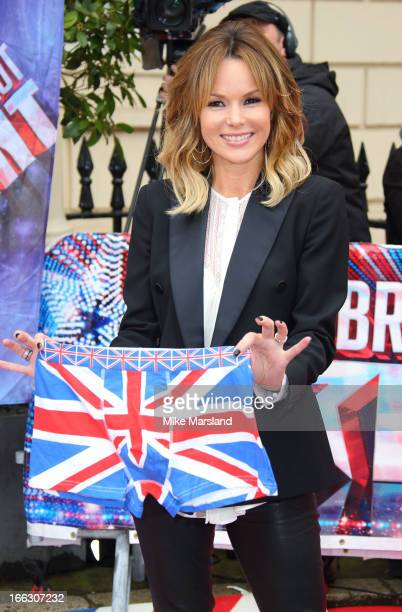 Amanda Holden attends the press launch for the new series of 'Britain's Got Talent' at ICA on April 11 2013 in London England