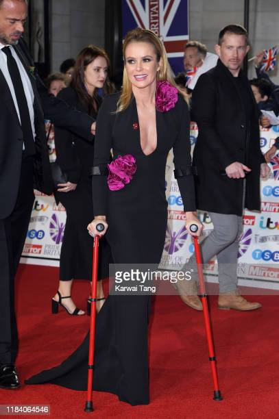 Amanda Holden attends the Pride Of Britain Awards 2019 at The Grosvenor House Hotel on October 28 2019 in London England