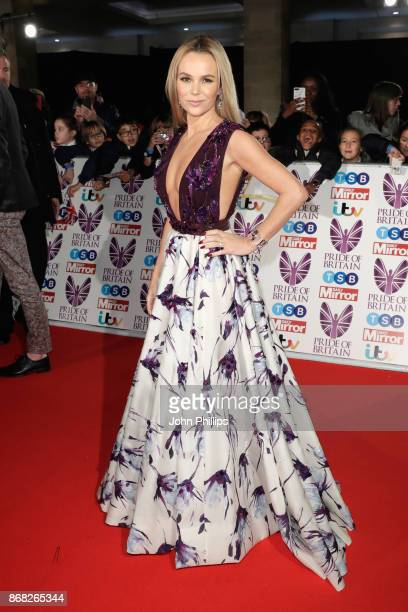 Amanda Holden attends the Pride Of Britain Awards at Grosvenor House on October 30 2017 in London England