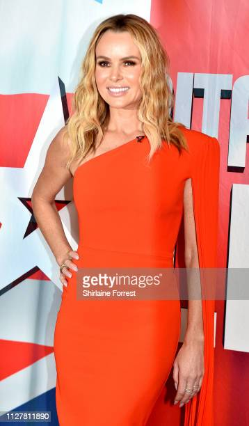 Amanda Holden during the 'Britain's Got Talent' Manchester photocall at The Lowry on February 06 2019 in Manchester England