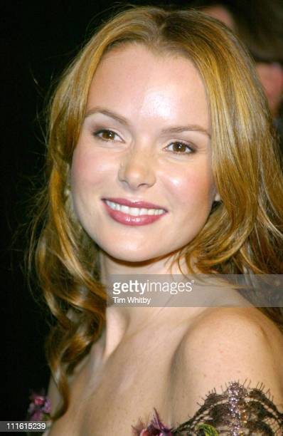 Amanda Holden during The British Independent Film Awards Arrivals at Hammersmith Palais in London Great Britain