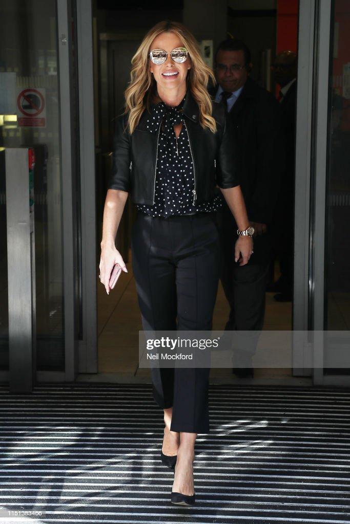 GBR: London Celebrity Sightings -  May 24, 2019