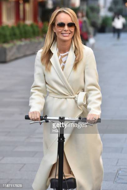 Amanda Holden seen at the Global Radio studios on November 12 2019 in London England