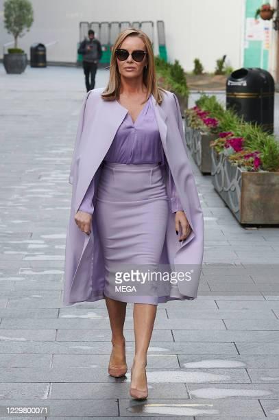 Amanda Holden seen leaving Global Radio on November 26 2020 in London England
