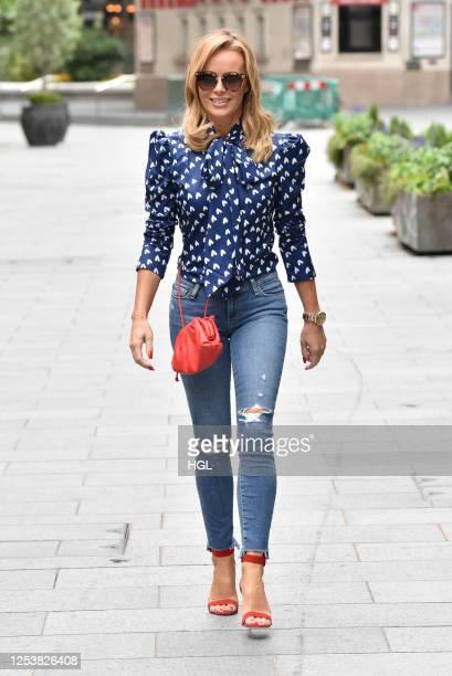 Amanda Holden sighting on July 02, 2020 in London, England.