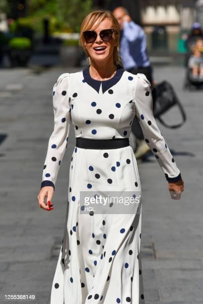 Amanda Holden sighting on July 10 2020 in London England