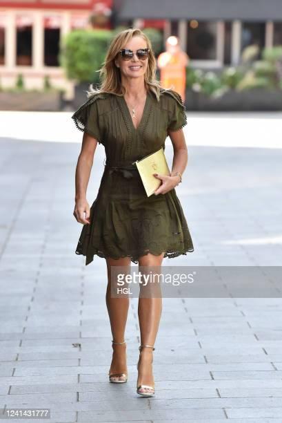 Amanda Holden sighting on June 02, 2020 in London, England.