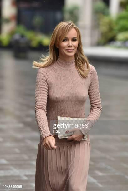 Amanda Holden sighting on June 10, 2020 in London, England.