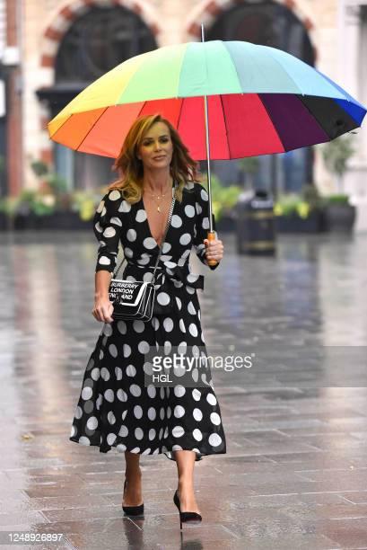 Amanda Holden sighting on June 11, 2020 in London, England.
