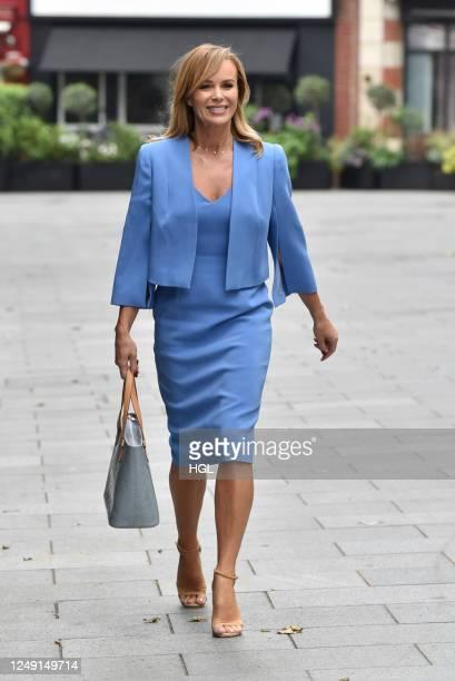 Amanda Holden sighting on June 12, 2020 in London, England.