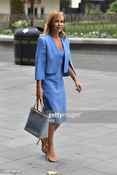 Amanda Holden sighting on June 12, 2020 in London, England.