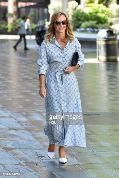 Amanda Holden sighting on June 15, 2020 in London, England.
