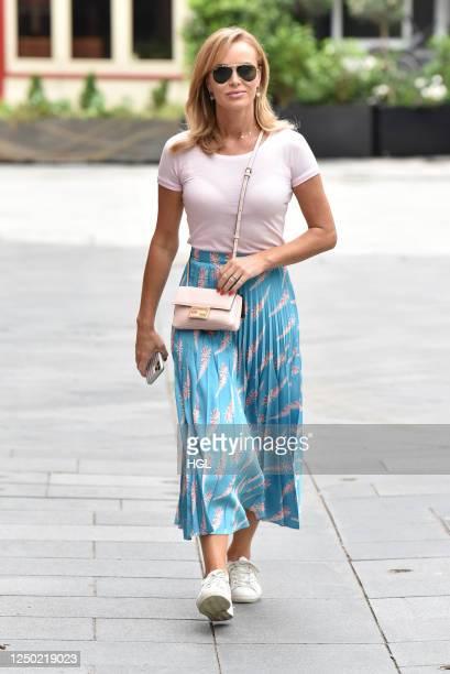 Amanda Holden sighting on June 17, 2020 in London, England.