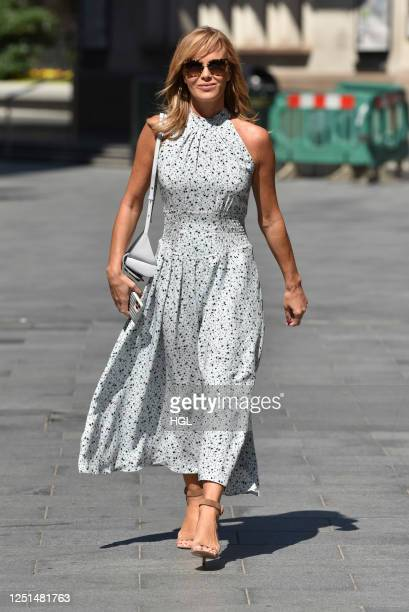 Amanda Holden sighting on June 23, 2020 in London, England.