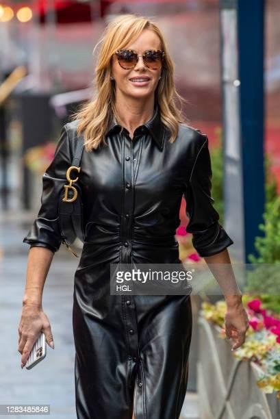 Amanda Holden sighting on November 02, 2020 in London, England.