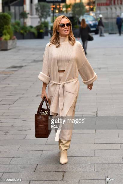 Amanda Holden sighting on November 03, 2020 in London, England.